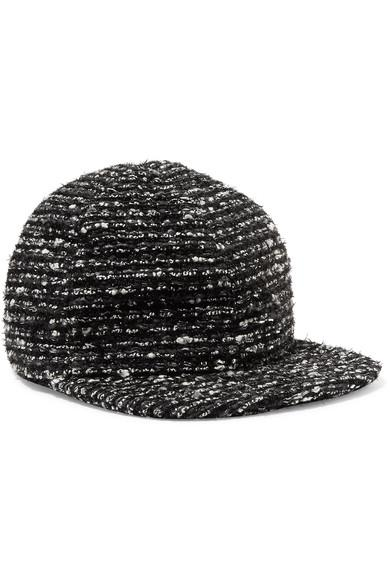 Eugenia Kim Darien Metallic Cotton-Blend Tweed Baseball Cap