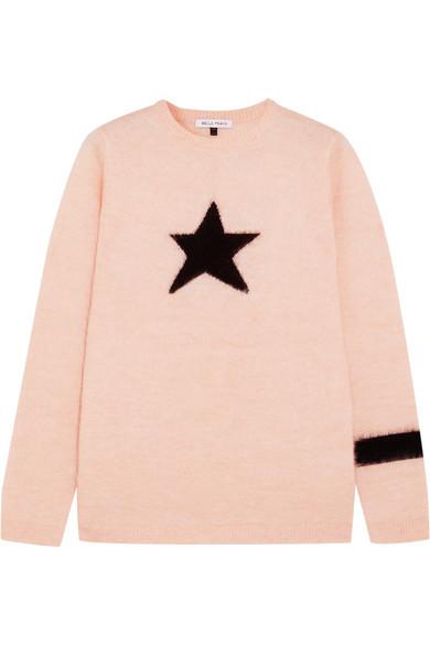 Bella Freud Star Mohair-Blend Sweater