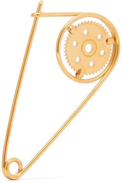Loewe Gold-Plated Brooch