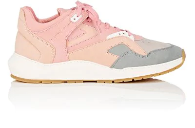 Filling Pieces Legacy Arch Nubuck Sneakers In Pink