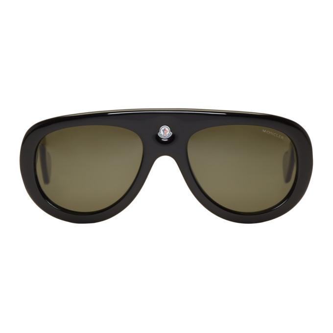 Moncler Black Ml0001 Sunglasses