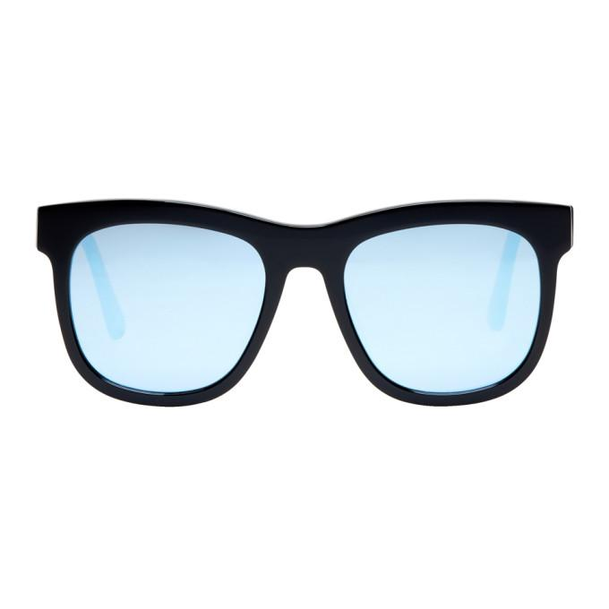 Gentle Monster Black & Blue Pulp Fiction Sunglasses