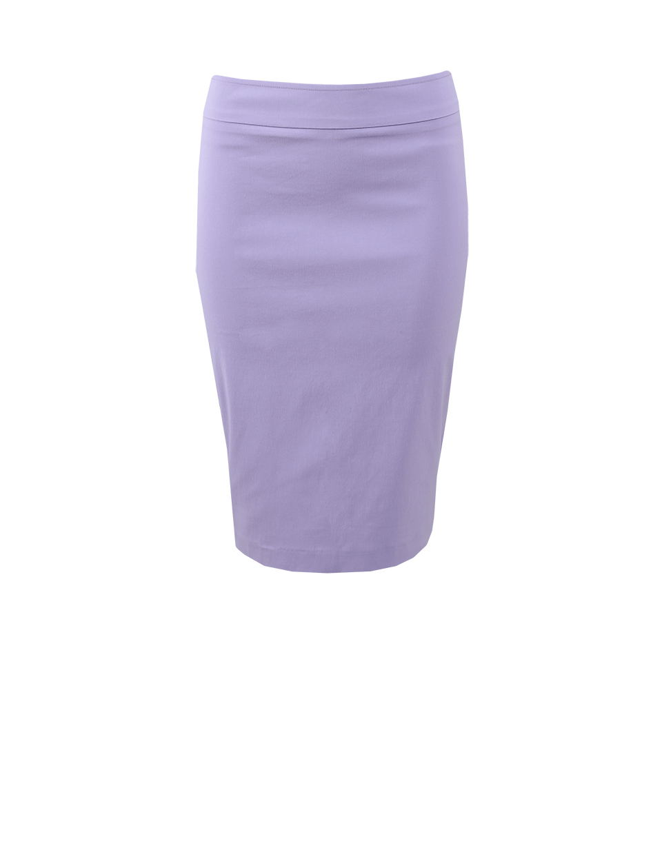 Avenue Montaigne Pull-On Stretch Pencil Skirt In Lavender