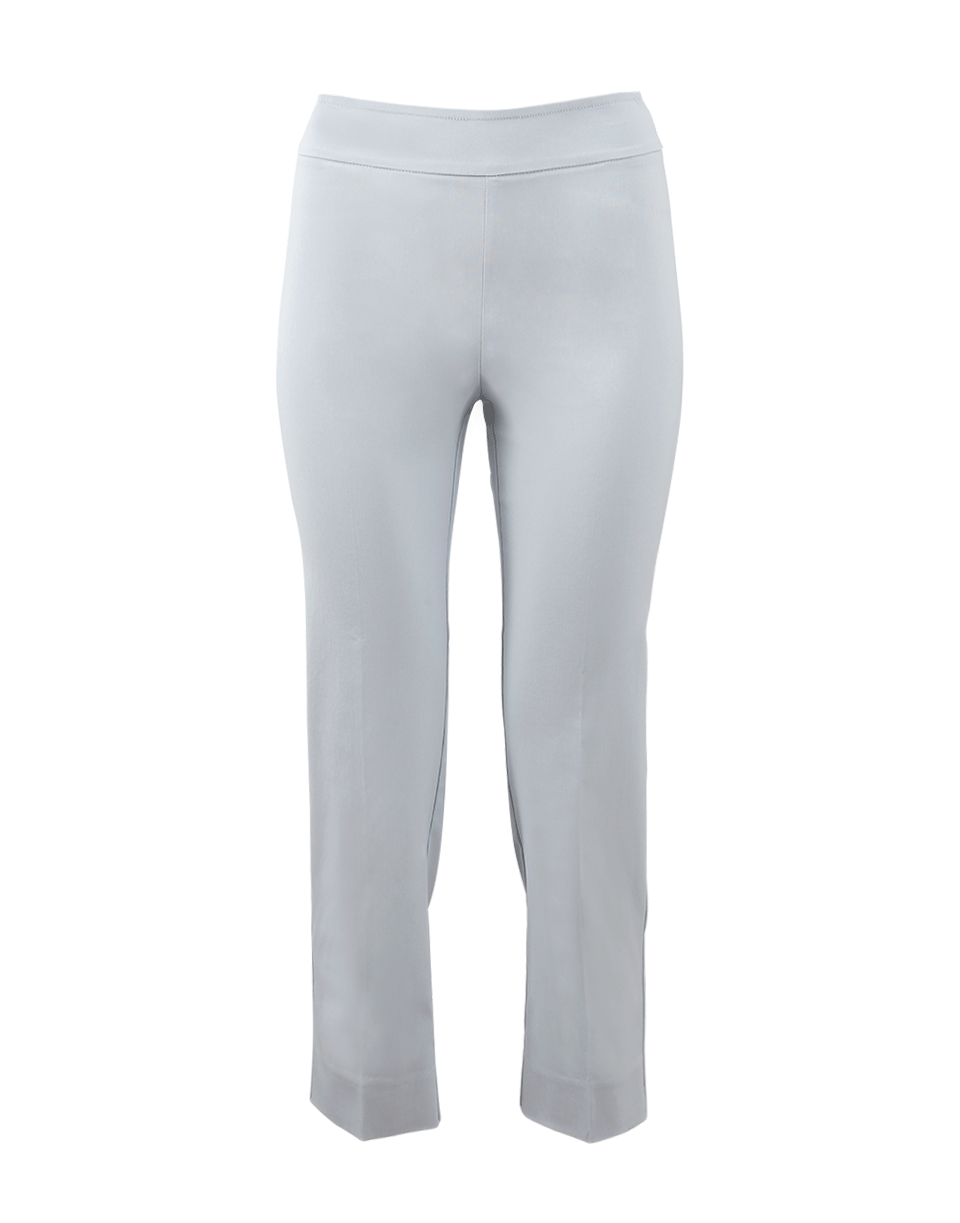 Avenue Montaigne Milan Pull-On Cropped Pant In Babyblue