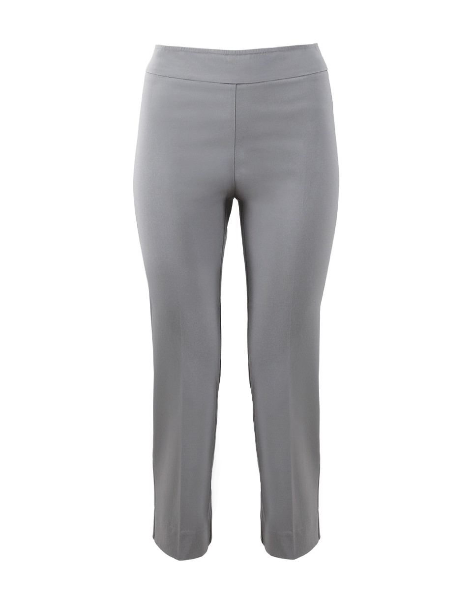 Avenue Montaigne Milan Pull-On Cropped Pant In Lt-Grey
