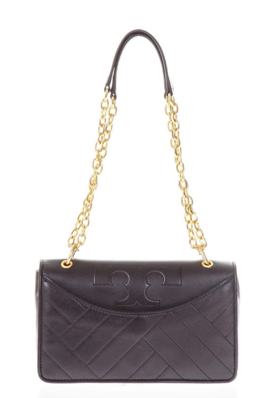 Tory Burch Alexa Convertible Mini Shoulder Bag In Black