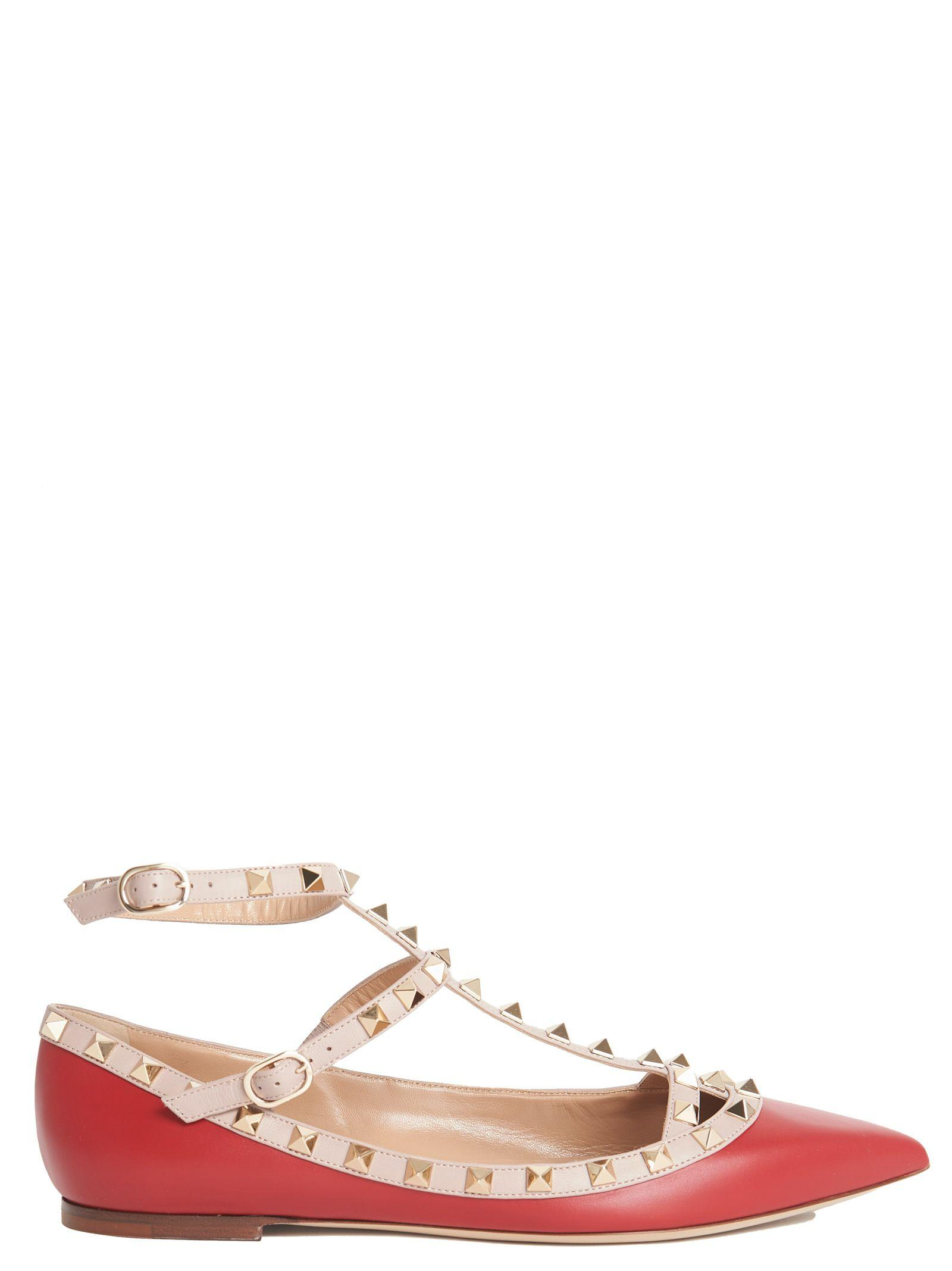 Valentino Shoes In Red