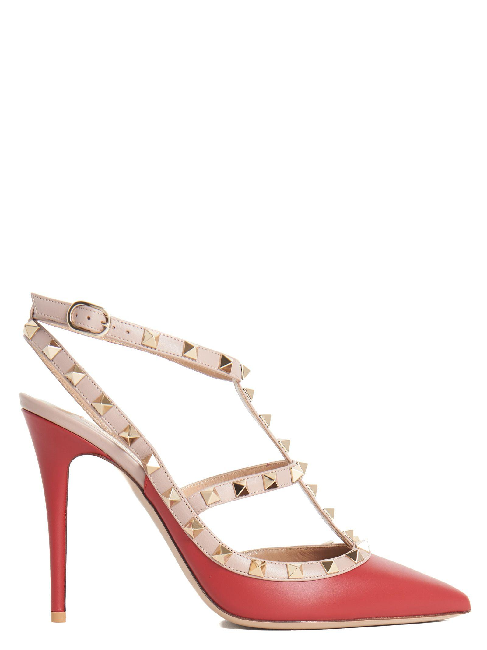Valentino Decollette In Red