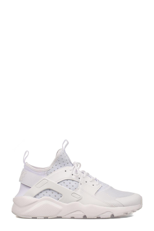 Nike White Air Huarache Run Ultra Slip On Sneakers