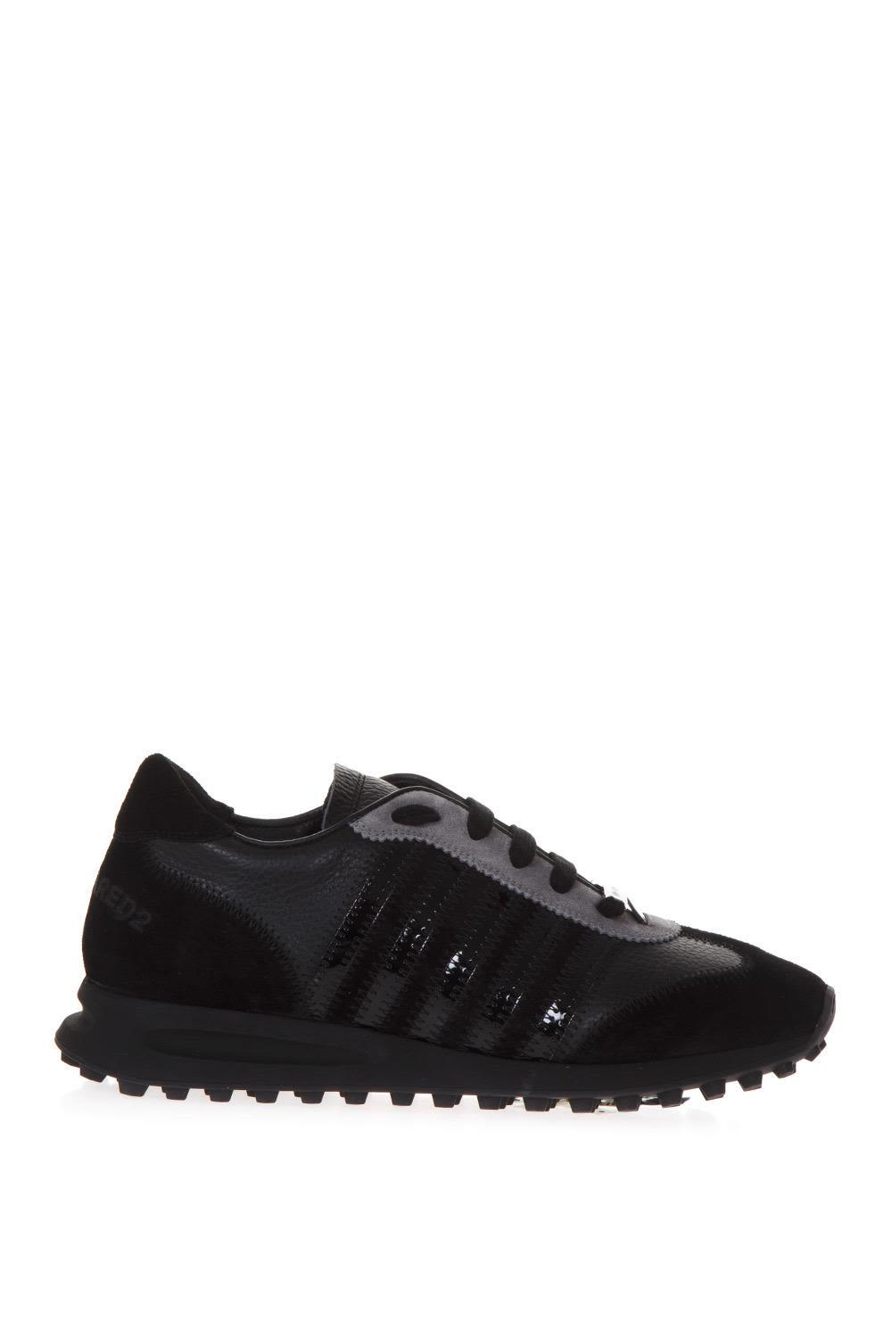 Dsquared2 New Runners Sneakers In Black