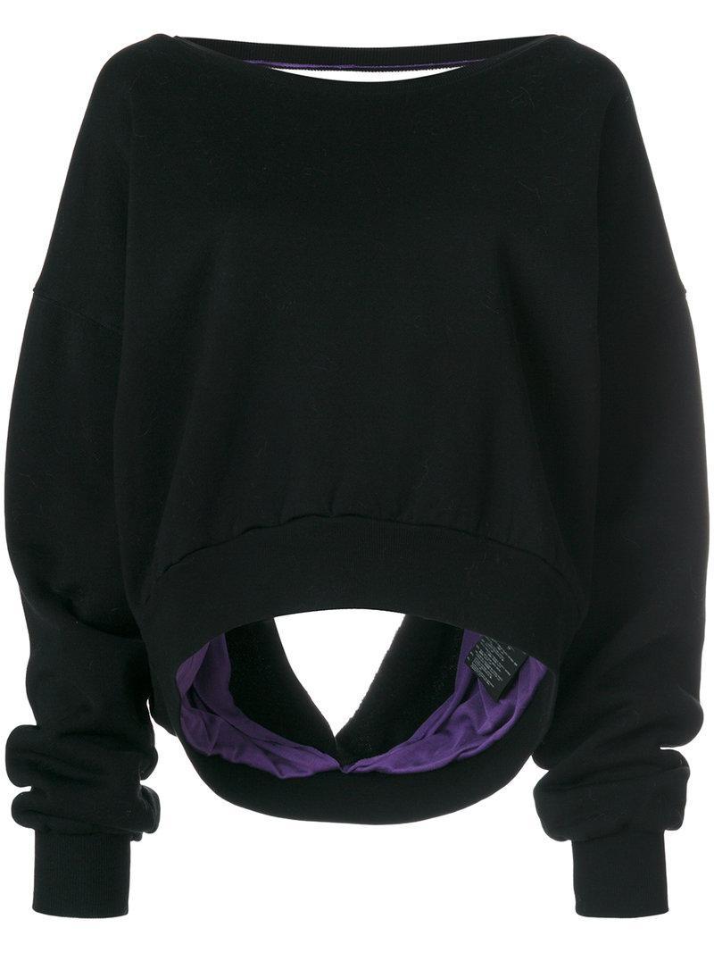 Ben Taverniti Unravel Project Sweater In Black