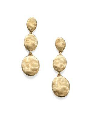 Marco Bicego Siviglia 18K Yellow Gold Triple-Drop Earrings