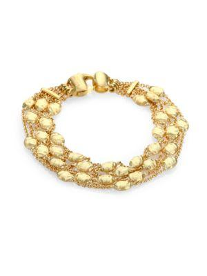 Marco Bicego Siviglia 18K Yellow Gold Five-Row Station Bracelet