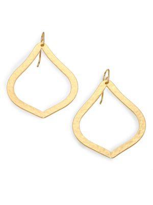 Stephanie Kantis Paris Ornament Drop Earrings In Gold