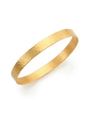 Stephanie Kantis Sizer Bangle Bracelet In Gold