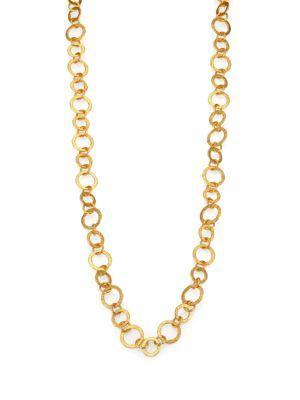 Stephanie Kantis Regency 24K Goldplated Chain Necklace