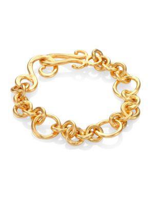 Stephanie Kantis Coronation Small Chain Bracelet In Gold
