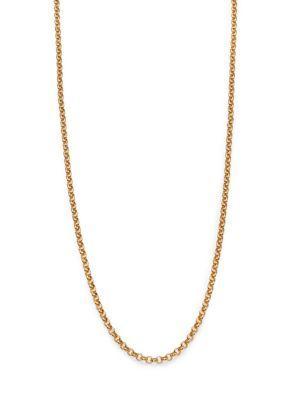 """Stephanie Kantis Aquarian Chain/36"""" In Gold"""