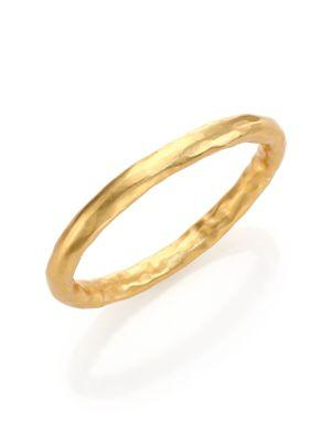 Stephanie Kantis Nugget Bangle Bracelet In Gold