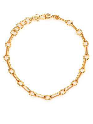 Stephanie Kantis Courtly Chain Necklace In Gold