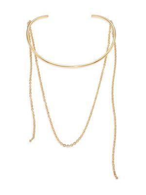 Jules Smith Loren Choker In Gold
