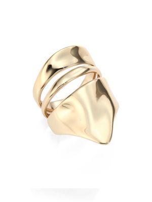 Alexis Bittar Liquid Gold Armor Ring