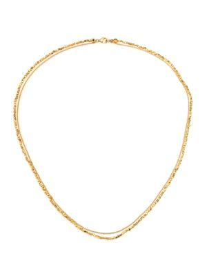 Astley Clarke Biography Beaded Necklace In Gold