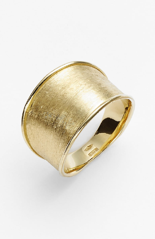 Marco Bicego 'Lunaria' Band Ring In Yellow Gold