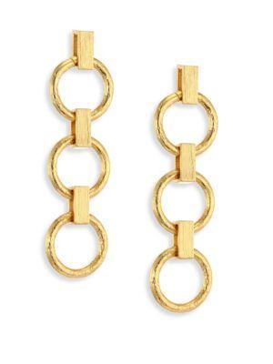Stephanie Kantis Metamorphosis Drop Earrings In Gold
