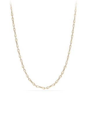 David Yurman Continuance Necklace In 18K Gold