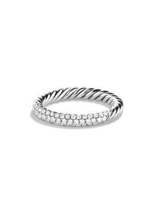 David Yurman Petite PavÉ Ring With Diamonds