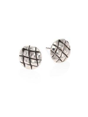 John Hardy Legends Cobra Sterling Silver Stud Earrings