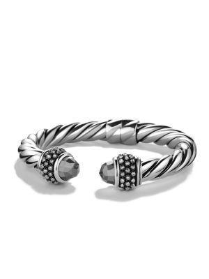 David Yurman Osetra Bracelet In Hematine