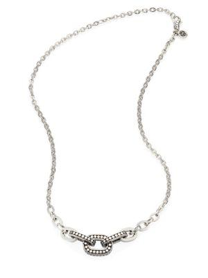 John Hardy Dot Sterling Silver Link Necklace