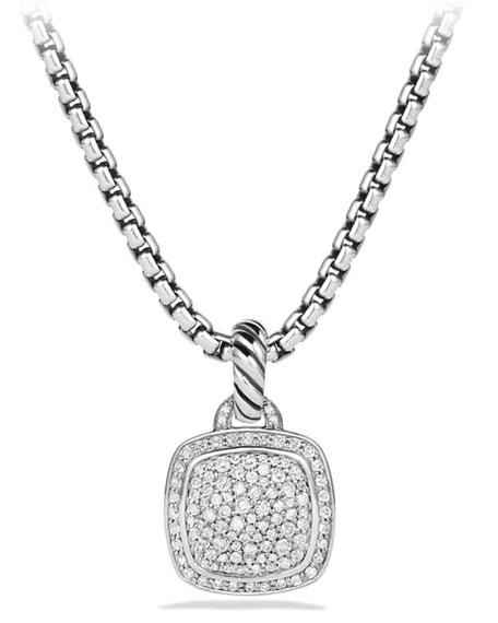 David Yurman Albion Pendant With Diamonds In Pave Diamonds