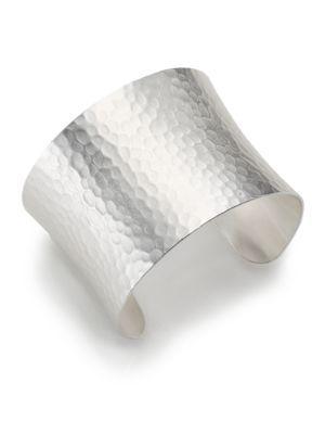 Stephanie Kantis Grecian Wide Cuff Bracelet In Silver