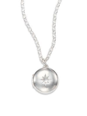 Astley Clarke Moonstone & Sterling Silver Little Astley Locket Necklace