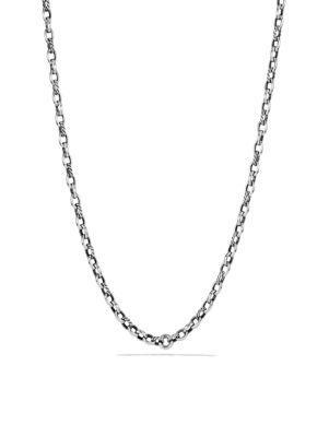 David Yurman Albion Chain Necklace In Silver
