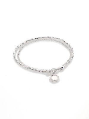 Astley Clarke Biography White Sapphire & Sterling Silver Cosmos Beaded Friendship Bracelet