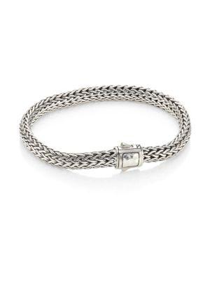 John Hardy Classic Chain Hammered 18K Bonded Yellow Gold & Sterling Silver Small Bracelet