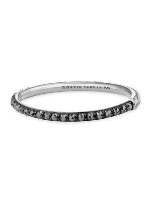 David Yurman Osetra Bangle Bracelet With Gemstone In Peridot