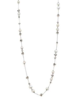 John Hardy Bamboo White Moonstone & Sterling Silver Sautoir Necklace