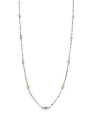 Konstantino Iliada Collection Chain Necklace In Silver-Gold