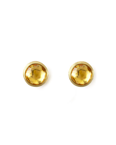 Marco Bicego Jaipur Citrine Stud Earrings