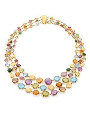Marco Bicego Jaipur Semi-Precious Multi-Stone Necklace
