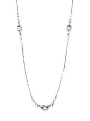 John Hardy Dot Sterling Silver Sautoir Link Necklace