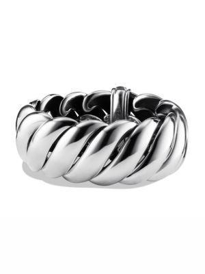 David Yurman Hampton Cable Bracelet In Silver