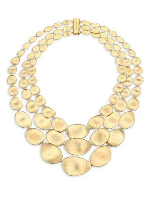 Marco Bicego Lunaria 18K Yellow Gold Multi-Strand Necklace