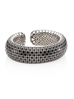 John Hardy Dot Medium Sterling Silver Flex Cuff