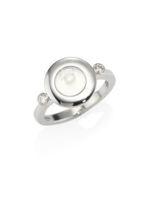 Chopard Happy Diamonds Icons 18K White Gold Ring